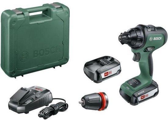 Bosch AdvancedDrill 18 accu schroefboormachine 18V + 2 accu's