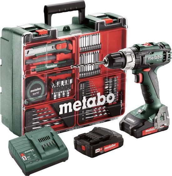 Metabo BS 18 L mobile workshop (13mm, 2x2,0Ah, SC 60 Plus)