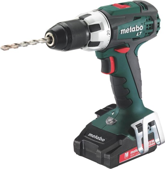 Metabo BS 18 LT Compact accuboormachine   18v 2.0Ah Li-ion